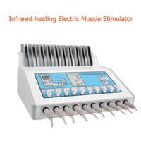 التسخين بالأشعة تحت الحمراء كهربي آلة / نظم الإدارة البيئية موجات كهربائية العضلات محفز / مكركرنت EMS