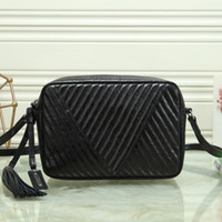 Newest V shape Black quilted texture leather bag handbags purses women chain Clamshell messenger packages single shoulder crossbody bags