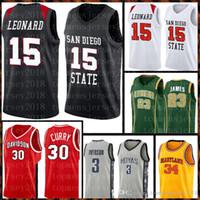 Lise Allen 3 Iverson College Len 34 Bias Jersey Lebron 23 James 13 Harden 33 Brid Basketbol 7878