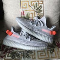 Livraison gratuite Kanye West chaussures de course chaussures de sport, Phare arrière, Cinder, Désert Sage, chaussures de mode de la Terre, de qualité supérieure