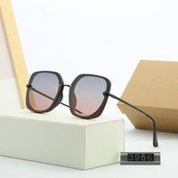 homens e mulheres famosos marca de moda óculos, top óculos polarizados de alta qualidade, praça de moda protetor solar óculos de sol 3956