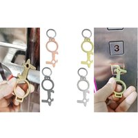 Press Elevator Tool Multifunction EDC Door Opener Contactles...