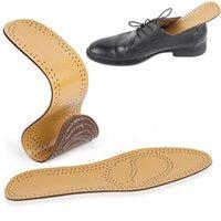 تنفس PU أحذية جلدية نعل وسادات حارب استبدال عرق باطن الداخلية رقيقة جدا النعال على الفور
