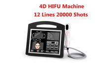 Professional 3D 4D Hifu Machine 20000 Shots Высокая интенсивность Сосредоточенная ультразвуковая кожа Утяженая кожа СМАС для лица для похудения Удаление морщин