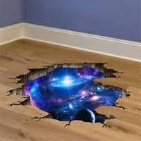 Outer Space Planets 3D Wall Stickers Cosmic Galaxy Wall Deca...
