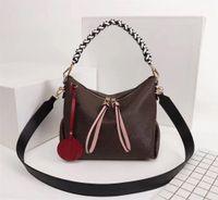 الأصلية عالية الجودة فاخر مصمم حقائب اليد المحافظ Beaubourg لالأفاق MINI حقيبة المرأة العلامة التجارية حمل زهرة النسيج حقيقي جلدي حقائب الكتف