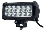 """Envío gratis super brillante 7 """"36 W Cree LED lámpara de barra de luz de trabajo 12v / 24v IP 67 camión SUV ATV Spot Flood para motocicleta Tractor barco"""