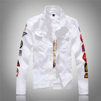 Classical Single Breasted Denim Jacket Casual Cotton Clothin...