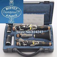 Qualità Brand Buffet 1825 B18 CLARINET 17 Key BB Strumenti musicali con custodia nera Case in pelle con tubo di bachelite