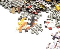 Puzzle Adult Mini 1000 Teile Puzzle-Spiel Decompression Spielzeug-Geschenk Startseite decroation