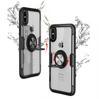 iphone 12 İçin Darbeye Akrilik Telefon Kılıfı Mini 12 11 Pro Max Xr Xs X Lüks Silikon Tampon Kılıf IPhone SE 2020 7 8 Artı 6s 6