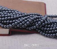 V352 10mm Iyi Siyah Hematit Gevşek top Boncuk kristal Bulguları için Fit DIY Bilezik Boncuk bilezik hotsale DIY Bulguları takı