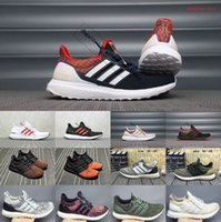 2020 Yeni Ultraboosts 3,0 4,0 Spor ayakkabı erkekler Kadınlar Yüksek Kalite Chaussures Ultra Boosts'un Beyaz Siyah Atletik Casual Luxury Sneakers 36-45