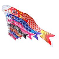محظوظ الكارب راية أعلام mulitcolor جميل طباعة windsocks البوليستر العلم ميد الأسماك النمط الياباني شنقا جدار ديكور حزب يدعم 35 ملليلتر e1