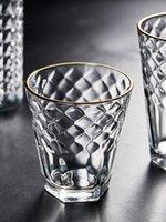 2020 nouvelle arrivée Isn de style Phnom Penh verre épaissi verre d'eau secours verre de whisky domestique coupe de vin transparent