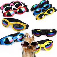 الكلب حماية نظارات uv نظارات طوي كلب نظارات متوسط كبير كلب نظارات pet نظارات نظارات للماء 6 ألوان اختيار dhl