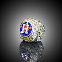 Meisterschaftsreihe Schmuckringe 2017 2018 Hou Astros World Baseball Meisterschaft Ring Altuve Springer Fan Geschenk Großhandel
