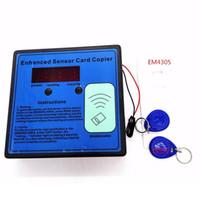 Fcarobd Vente en gros 125-135khz RFID ID Lecteur de carte EM Capteur de carte amélioré Capteur avec 2pcs tags de porte-clés et 3pcs cartes pour porte de garage automatique