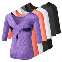 EC. MS Yoga Tops Activewear Running Workouts T- Shirt Cross Ba...