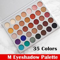 35 colori opachi della gamma di colori Maquillage eye shadow compongono Paleta de sombra de ojos Kit