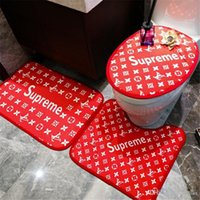 Street Fashion Toilet Seat Cover Three Pieces Overcoat Toile...