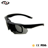 Goggles Army Sunglasses With 4 Lens Men Shooting Eyewear Dri...