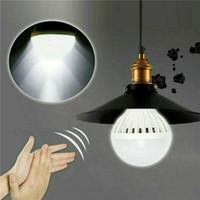 Lampadina 5/7 / 9W E27 risparmio energetico di controllo del suono di rilevazione automatica della lampada LED