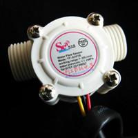Antirust Su Akış Ölçer Sensörü Sayacı Göstergesi Debimetre Yakıt Havuzu Şamandıra Switch Salonu Su Isıtıcıları G1 / 2 1-30L / Min DN15