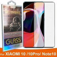 Экран 3D изогнутый чехол Дружественные закаленное стекло протектор для Xiaomi MI 10 1Pro NOTE10 Примечание 10 CC9 PRO ПОЛНЫЙ COVAE GLASS в розничной коробке
