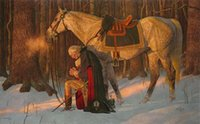 Arnold Friberg PRAYER AT VALLEY FORGE Oil Art Painting Georg...
