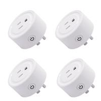 50pcs Smart Plug Smart WiFi Socket USCITORE US Plug Switch per Google Home App Control per Alexa collegata da WiFi Plug Control Voice Control