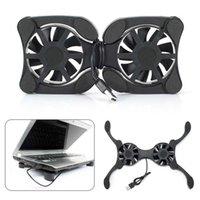 """Порт USB Mini Octopus Notebook Cooler Вентилятор охлаждения Pad Pad Складные Коллер Вентилятор охлаждения для 7 """"-15"""" Laptop Cooler"""