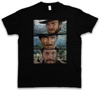 THE GOOD THE BAD AND THE UGLY T- SHIRT - Italo Western Eastwo...