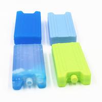 Caja de hielo Thermcoolers Uso repetible 400 ml Preservación fría fresca Mantenimiento de calificación de alimentos Blue Cool Casillas de almacenamiento Factory Venta directa 2 5Js P1