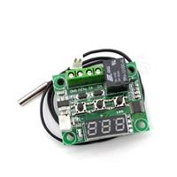 W1209 DC 12V LED الرقمية ترموستات التحكم في درجة الحرارة ميزان الحرارة الحرارية تحكم التبديل وحدة + استشعار NTC
