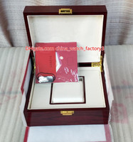 Vendita calda di alta qualità in PP Nautilus orologio rosso scatola originale documenti carte scatole di legno borsa per Aquanaut 5167 5711 5712 5990 5980 orologi