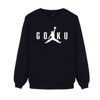 Anime Autumn Winter Hoodies SON GOKU Men Cartoon Sweatshirt ...