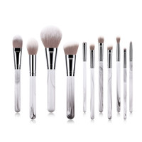 11 PCS Women Makeup Brushes Set Fancy Dress Party Ladies Nos...