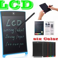 Lcd schreiben tablet digital tragbare 8,5 zoll zeichnung handwriting pads elektronische board für erwachsene kinder kinder