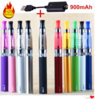 1pcs CE4 Prezzo PACCHETTO Sigaretta elettronica Sigaretta del fumo del tubo Ego Kit USB Caricatore USB narghilè Penna VAPE 900Mah EGO-T Ciga della batteria per E liquido