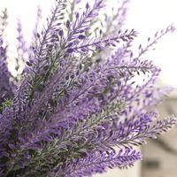 Français Romantique Saint Valentin Violet Fleurs Provence Lavande Fleurs Artificielles Grain De Mariage Décoratif Jardin Des Plantes A1350