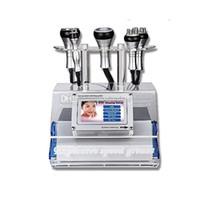 Portable 5 IN 1 ultrasons Liposuccion RF Cavitation amincissant la machine avec tripolaire Fourpolar Sixpolar RF radiofréquence Vaccum thérapie