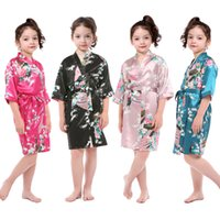 Chinese Style Wholesale Children Sleep Wear Little Girls Sat...