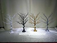 nessun cristallo hangging) bellissimo fiore alto si erge senza cristallo chiaro centrotavola da tavolo decorazione decor0694