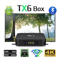 Android 9. 0 tv box TX6 Allwinner H6 Quad Core 4GB 64G 2. 4G 5...