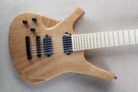 7 cordes 24 main gauche guitare électrique simple planche doigt érable corps en bois chaud nouveau @ #! $