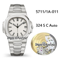 Best Version PF 5711 1A- 011 Steel Case White Texture Cal. 324...