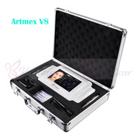 Artmex V8 ماكياج دائم آلة الوشم الرقمية الكهربائية العين الحاجب الشفاه الروتاري القلم نظام MTS PMU ماكياج آلة سبا صالون استخدام