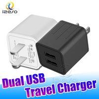 منافذ USB مزدوجة محول شحن الهاتف 5W الجدار شاحن السفر محول الطاقة لizeso سامسونج S20 S10 زائد هواوي LG XIAOMI دي إتش إل الحرة