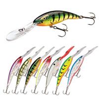 New Swimbaits laser a labbro lungo Mega bass 7cm 9g Gamefish twitch / jerk Deep Lure Fishing Lure Hook